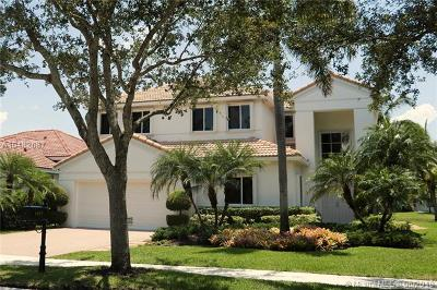 Weston Single Family Home For Sale: 1457 Camellia Circle