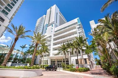 Miami Beach Condo For Sale: 4391 Collins Ave #1913