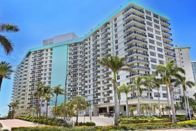 Hollywood Condo For Sale: 3725 S Ocean Dr #527