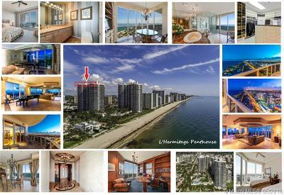 Fort Lauderdale Condo For Sale: 3100 N Ocean Blvd #PH2808