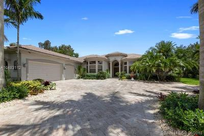 Plantation Single Family Home For Sale: 12001 NW 11th St