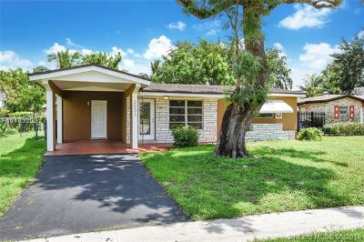 Lauderdale Lakes Single Family Home For Sale: 3531 NW 37th St