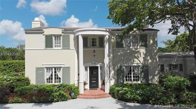 Coral Gables Single Family Home For Sale: 3310 Alhambra