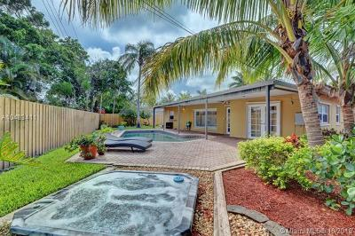 Fort Lauderdale Single Family Home For Sale: 1660 Poinsettia Dr