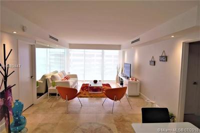 Miami Beach Condo For Sale: 5161 Collins Ave #1603