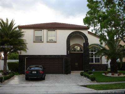 Pembroke Pines Single Family Home For Sale: 16858 SW 16th St