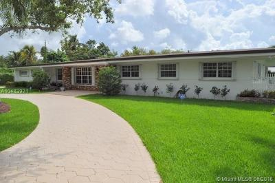 Pinecrest Single Family Home For Sale: 8135 SW 136th St