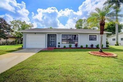 Delray Beach Single Family Home For Sale: 14782 Summersong Ln