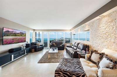 Hollywood Condo For Sale: 3111 N Ocean Dr #1612
