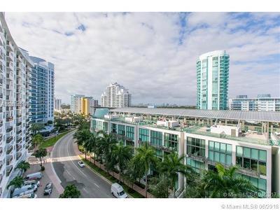 Miami Beach Condo For Sale: 6039 Collins Ave #1034
