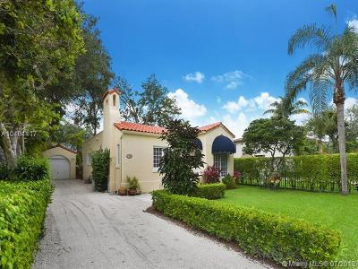 Coral Gables Single Family Home For Sale: 1253 Andalusia Avenue