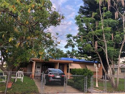 West Park Single Family Home For Sale: 4301 SW 36th St
