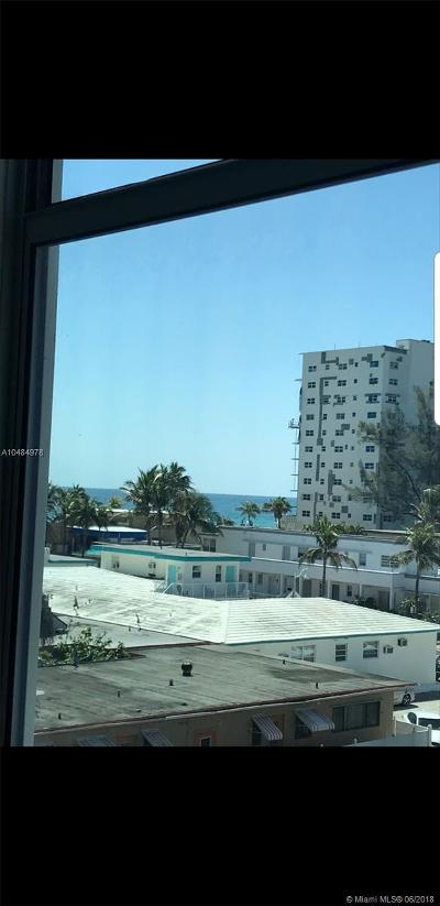 Hollywood Condo For Sale: 777 N Ocean Dr #S327