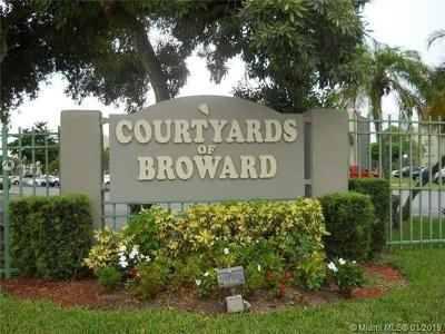 North Lauderdale Condo For Sale: 1810 SW 81 Ave #2111