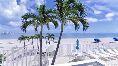 Fort Lauderdale Condo For Sale: 3750 Galt Ocean Dr #101