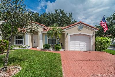 Coconut Creek Single Family Home For Sale: 6031 NW 44th Way