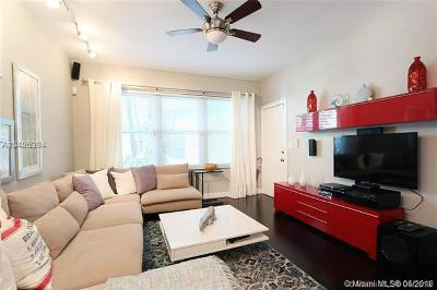 Miami Beach Condo For Sale: 1051 Euclid Ave #107