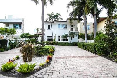 Fort Lauderdale Single Family Home For Sale: 113 S Gordon Rd