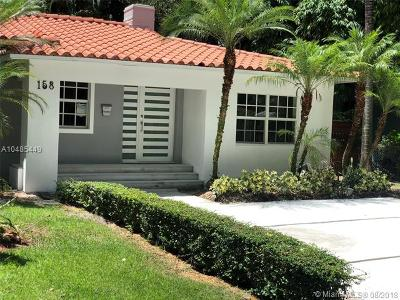 Miami Shores Single Family Home For Sale: 158 NW 94th St