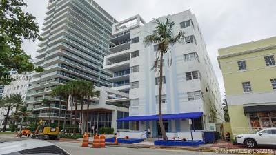 Miami Beach Condo For Sale: 3621 Collins Ave #307