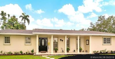 Pinecrest Single Family Home For Sale: 7380 SW 120th St