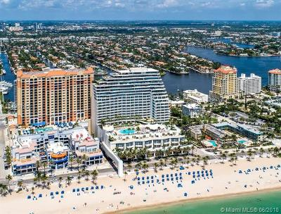 Fort Lauderdale Condo For Sale: 1 N Fort Lauderdale Beach Blvd #1905
