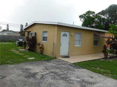 Pompano Beach Single Family Home For Sale: 2525 NW 4th Ct