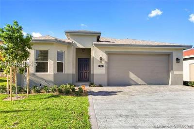 Pompano Beach Single Family Home For Sale: 731 NE 1st St