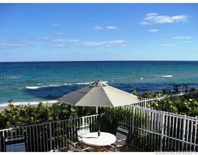 Fort Lauderdale Condo For Sale: 4250 Galt Ocean Dr #2J