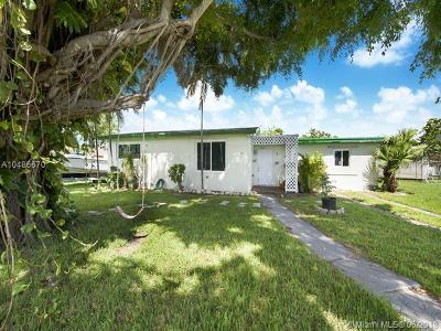 Cutler Bay Single Family Home For Sale: 9721 Martinique Dr
