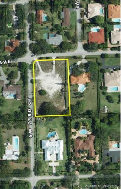 Pinecrest Residential Lots & Land For Sale: 7298 SW 100th St