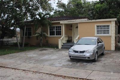 North Miami Single Family Home For Sale: 13370 NE 9th Ave