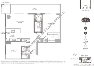Miami Condo For Sale: 1080 Brickell Ave #1901
