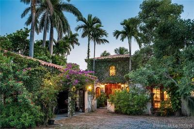 Miami Beach Single Family Home For Sale