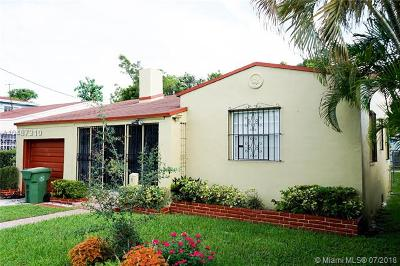 Single Family Home For Sale: 61 NW 38 Street