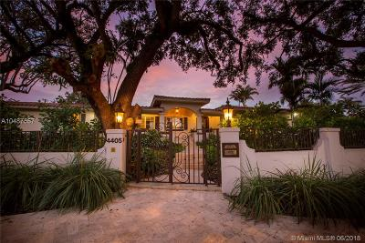 Coral Gables Single Family Home For Sale: 4405 Granada Bl