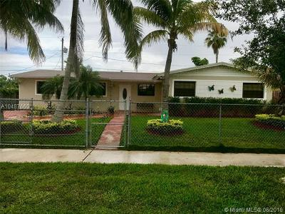 Cutler Bay Single Family Home For Sale: 10040 SW 213th St