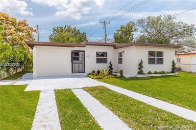 North Miami Single Family Home For Sale: 12675 NW 1st Ct