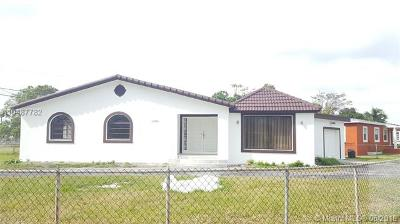 Miami FL Single Family Home For Sale: $299,000