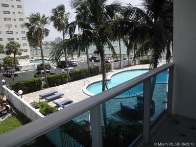 Miami-Dade County Condo For Sale: 7501 E Treasure Dr #2H