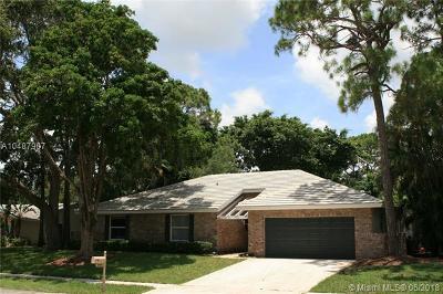boca raton Single Family Home For Sale: 2623 NW Timbercreek Cir