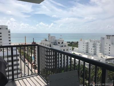 Miami Beach Condo For Sale: 1800 Collins #17e