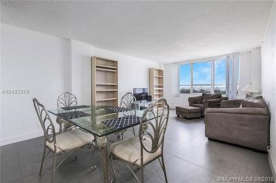 Miami Beach Condo For Sale: 1500 Bay Rd #1570S