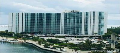 Sunny Isles Beach Condo For Sale: 100 Bayview Dr #708