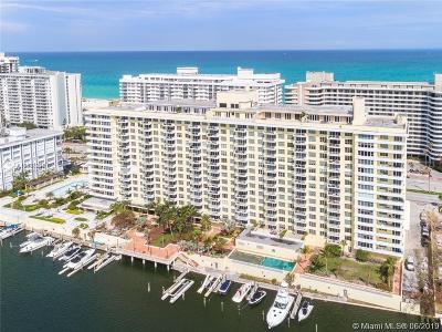 Miami Beach Condo For Sale: 5600 Collins Ave #14B