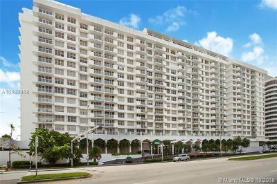 Miami Beach Condo For Sale: 5601 Collins Ave #1512A