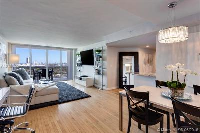 Miami Beach Condo For Sale: 1900 Sunset Harbour Dr #1609