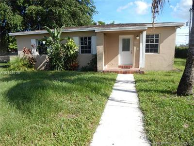 Miami Gardens Single Family Home For Sale: 600 NW 188th St