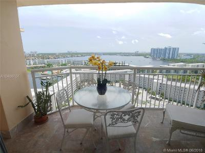 Miami-Dade County Condo For Sale: 18031 Biscayne Blvd #1904