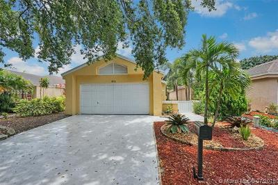Coconut Creek Single Family Home For Sale: 3721 NW 19